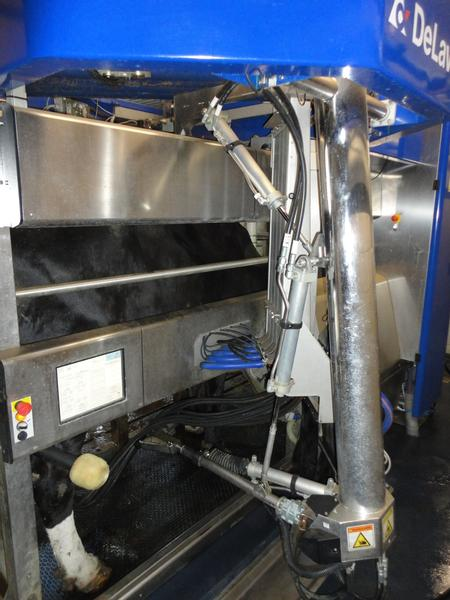 DeLaval vms links 2x incl tank