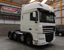 Daf XF105 460 SUPERSPACE EURO 5, 6 X 2 TRACTOR UNIT - 2013 - EY13 VAA