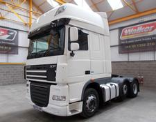 Daf XF105 460 SUPERSPACE EURO 5, 6 X 2 TRACTOR UNIT - 2013 - EY13 VAE