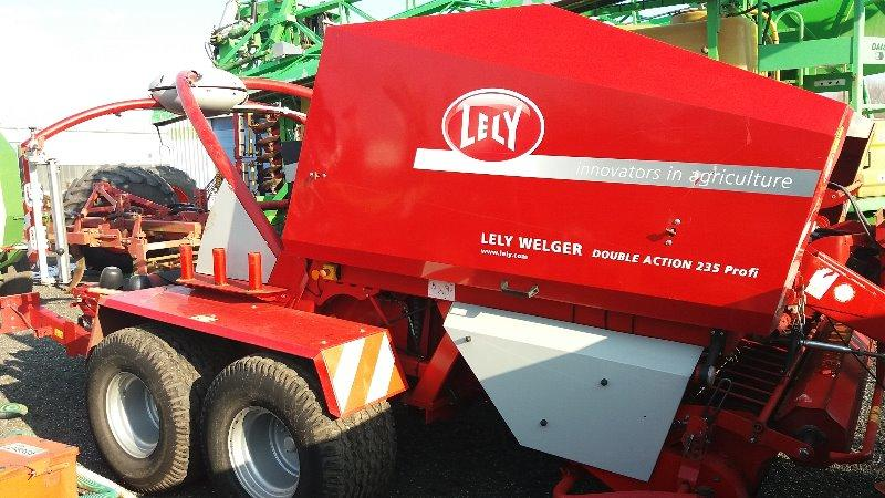 Welger Lely Double Action RP 235 Profi