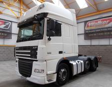 Daf XF105 460 SUPERSPACE EURO 5, 6 X 2 TRACTOR UNIT - 2013 - EY13 UZE