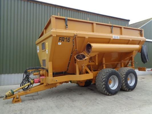Used Richard Western 16T chaser bin