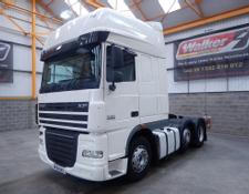 Daf XF105 460 SUPERSPACE EURO 5, 6 X 2 TRACTOR UNIT - 2011 - AY61 AVZ