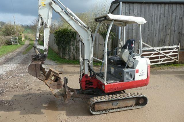 Takeuchi TB016 MINI DIIGER