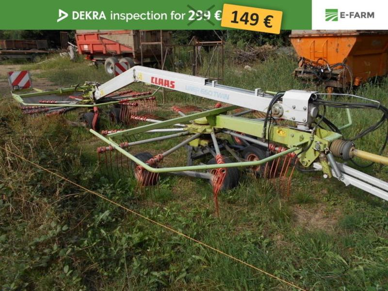 Claas LINER 650 TWIN