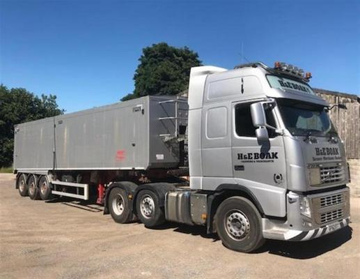 Volvo  FH500 and Bulker For Sale