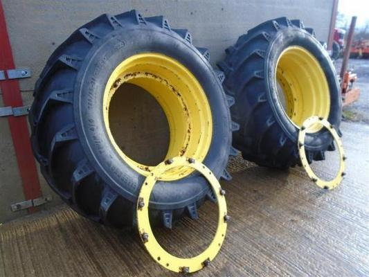 Trelleborg Twin Floatation Wheels For Sale