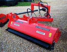 PROFORGE Z-POWER Perugini 220R, Hyd offset Z -Linkage 2.2 m Verge/Dyke Flail Mower, New,