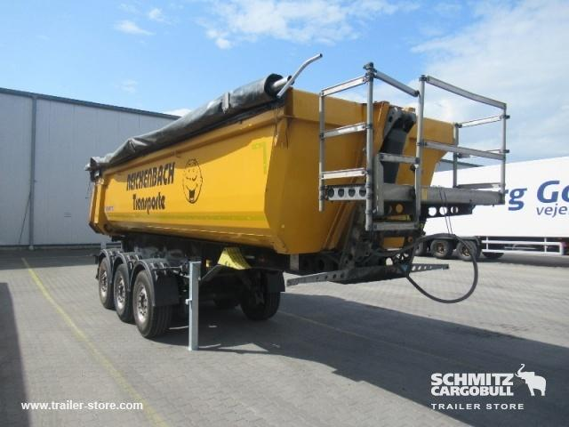 Schmitz Cargobull Semitrailer Tipper Steel-square sided body