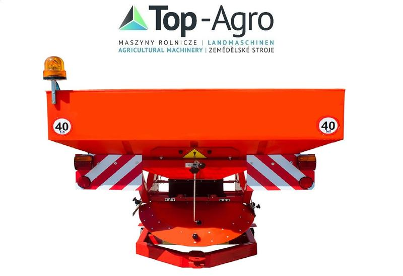 Top-Agro Sandstreuer TURBO 850l,1200kg  NEU