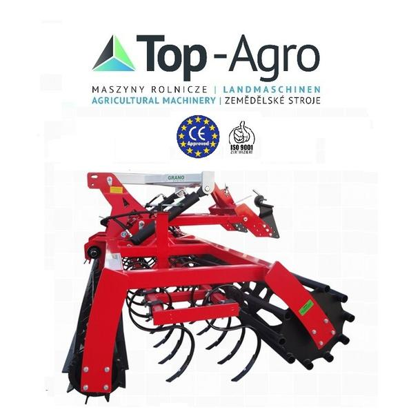 Top-Agro GRANO System Saatbeetkombination 2,5m 2,7m 3,0m BEST QUALITY CE 2018