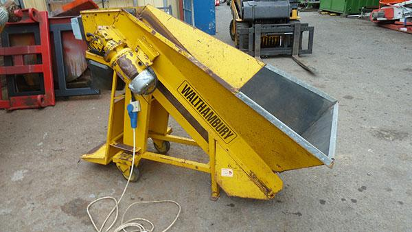 Walthambury 220  weigher. Single belt single phase.
