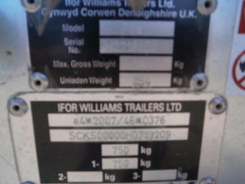 Ifor Williams P8E
