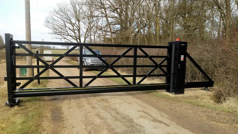 Wellington Security EstateGuard 6 metre Sliding Gate