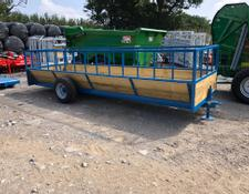 John Shepherd Cattle Feed Trailers